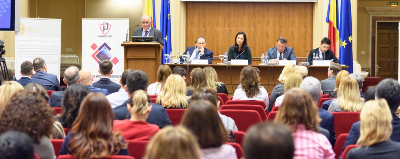CONFERINȚA PROTECTOR DEDICATĂ MEDIULUI FINANCIAR - BANCAR